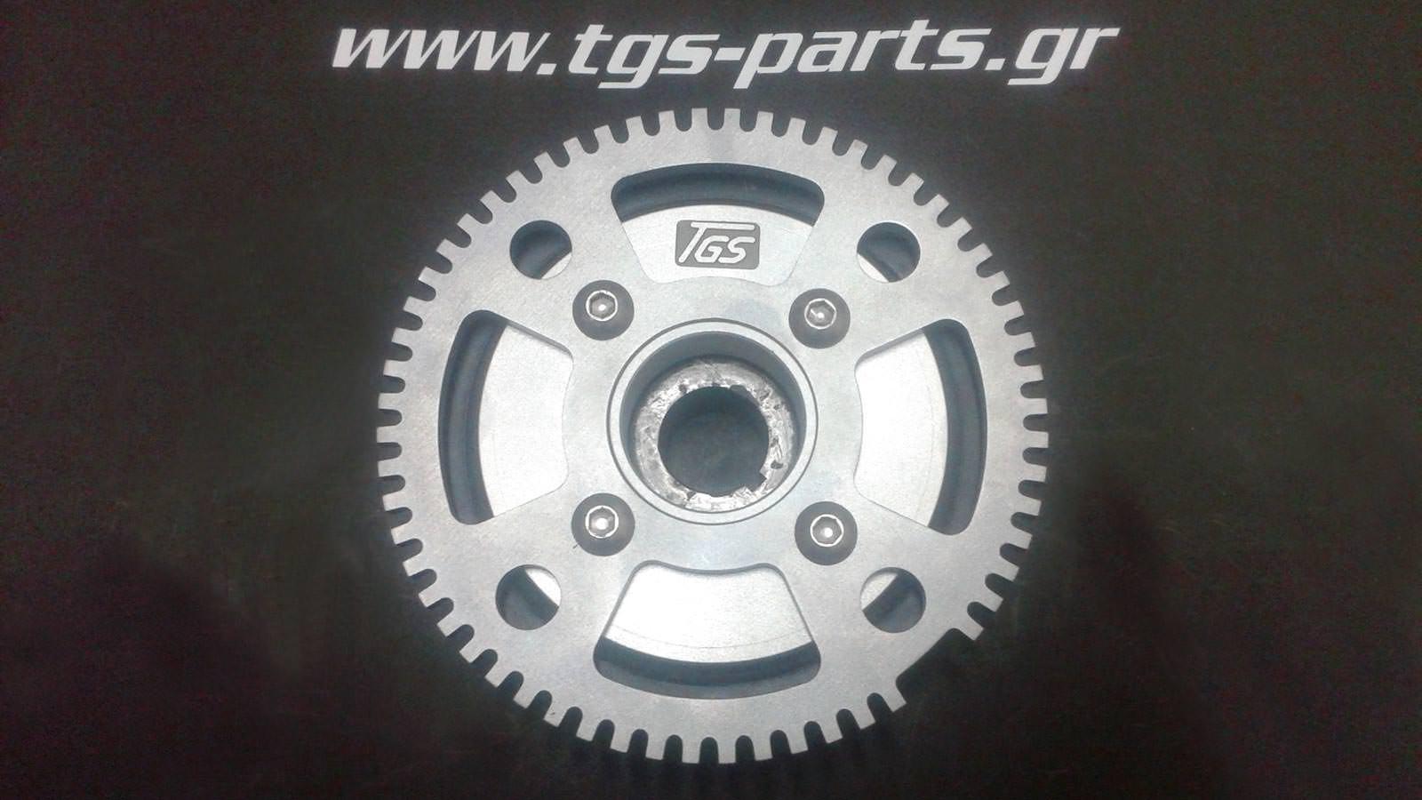 τροχαλίες μετάδοσης κίνησης αλουμινίου αυτοκινήτου tgs parts