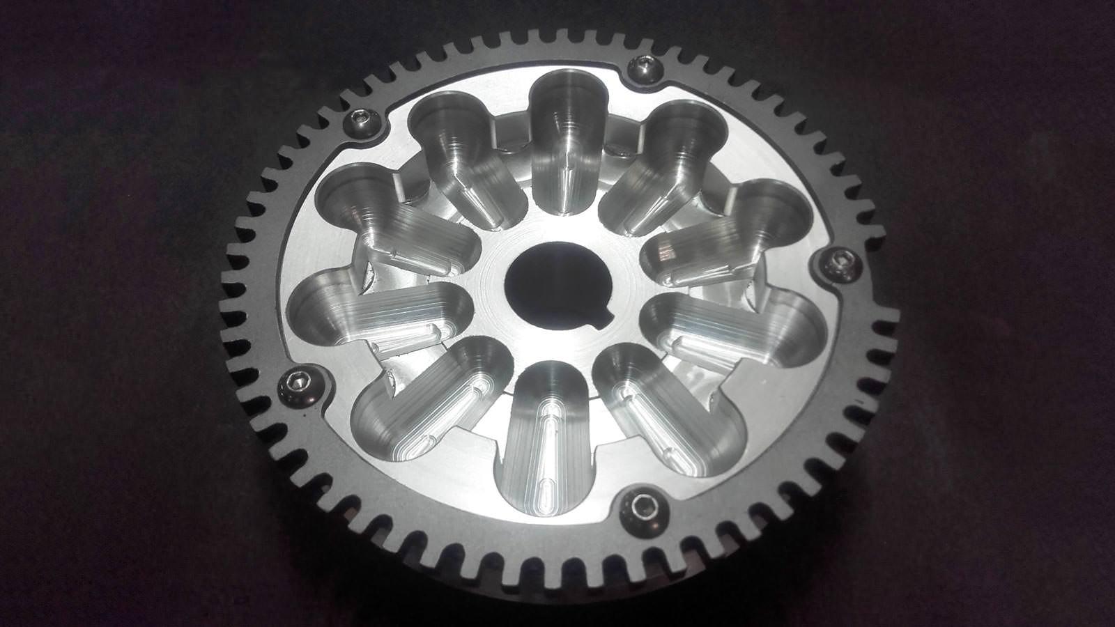 τροχαλίες κίνησης αλουμινίου tgs parts